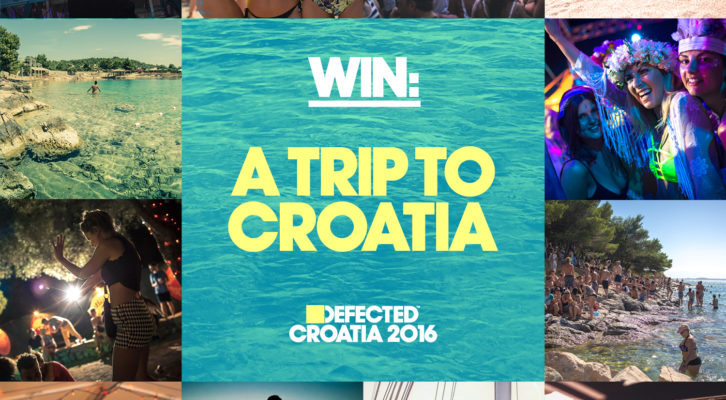 Win a trip to Defected Croatia 2016